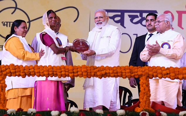PM Unveils Several Development Projects in Haryana
