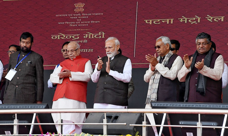 PM Unveils Development Projects worth Rs.33000 Crores for Bihar