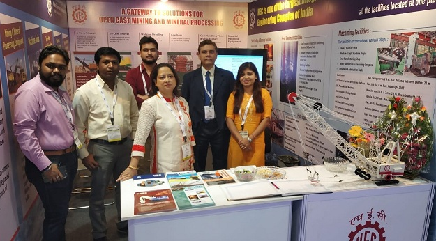 HEC Participated in International Mining and Machinery Exhibition