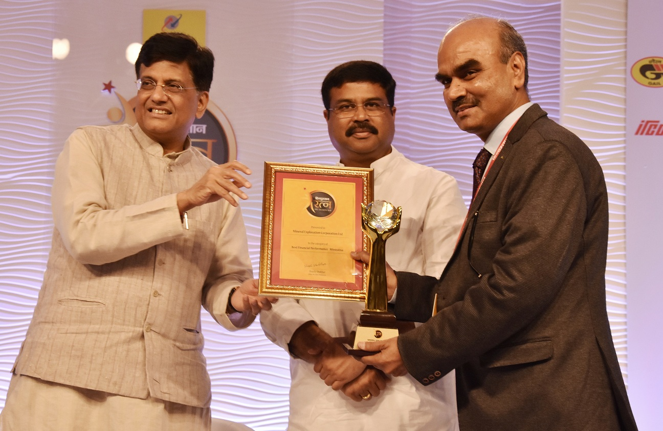 MECL Bagged Best Financial Performance Award