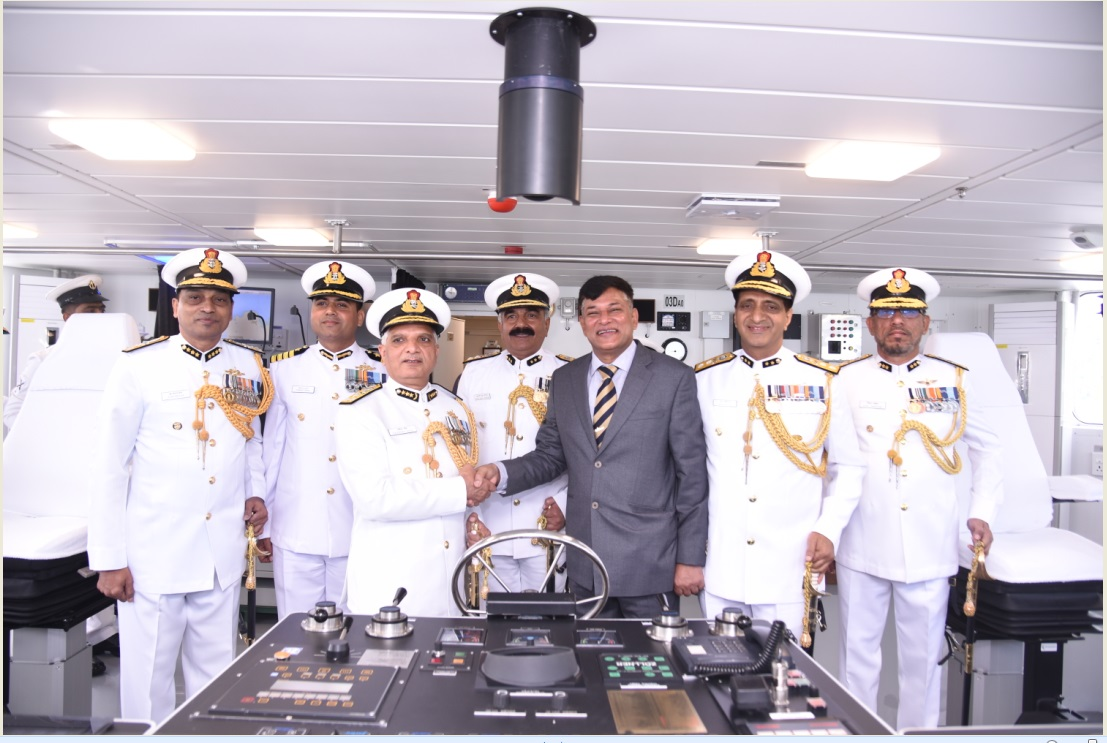 GSL Delivered 6 more Ships to Indian Coast Guard
