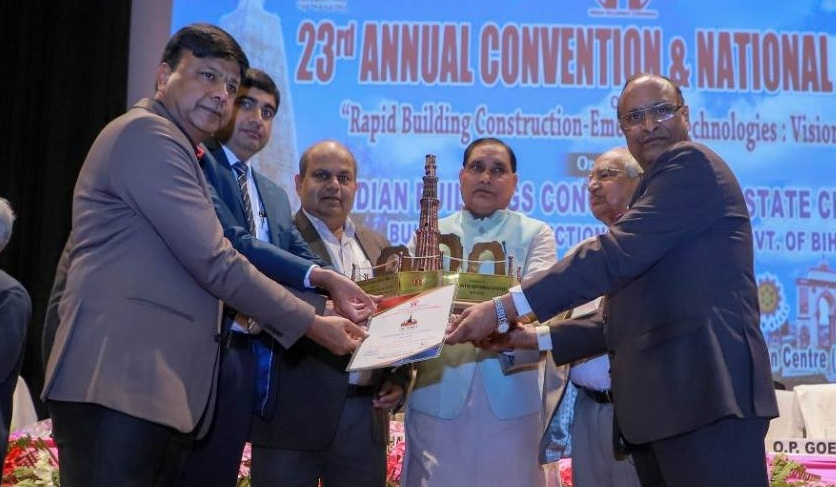 IRCON Conferred with IBC Award for Excellence