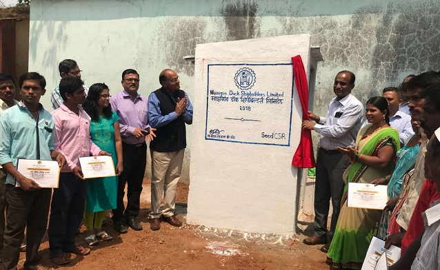 MDL Handed over 100 Individual Toilets