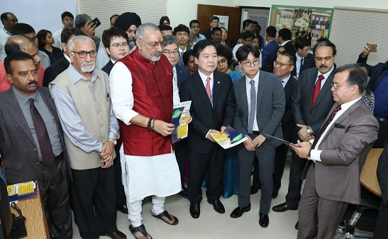 India Korea Technology Exchange Centre Inaugurated at NSIC