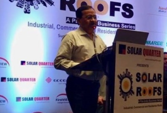 REIL Awarded for its outstanding Contribution in Rajasthan for Promoting Solar Roof Top
