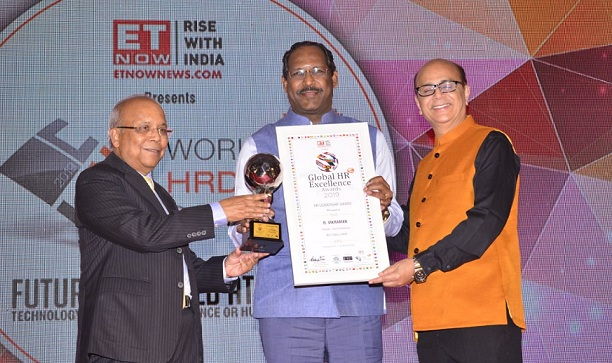 NLC Conferred with Global HR Leadership Award by World HRD Congress