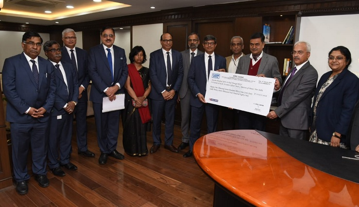 NTPC Paid Interim Dividend of Rs. 2951.88 Crore for FY 2018-19