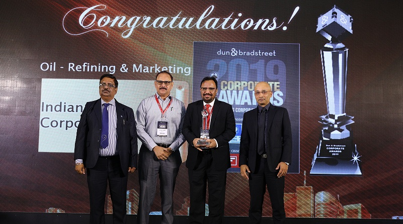 IndianOil Bags Dun and Bradstreet Award 2019 in Oil Refining and Marketing Category