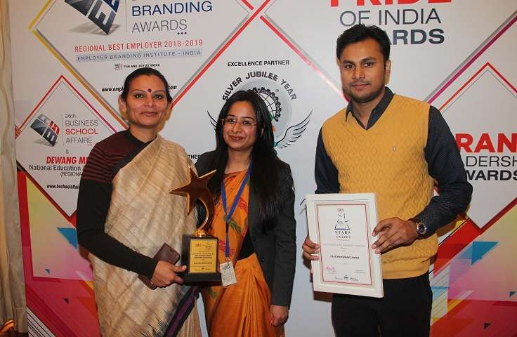 IRCON Bags the ET Now Stars of the Industry Awards