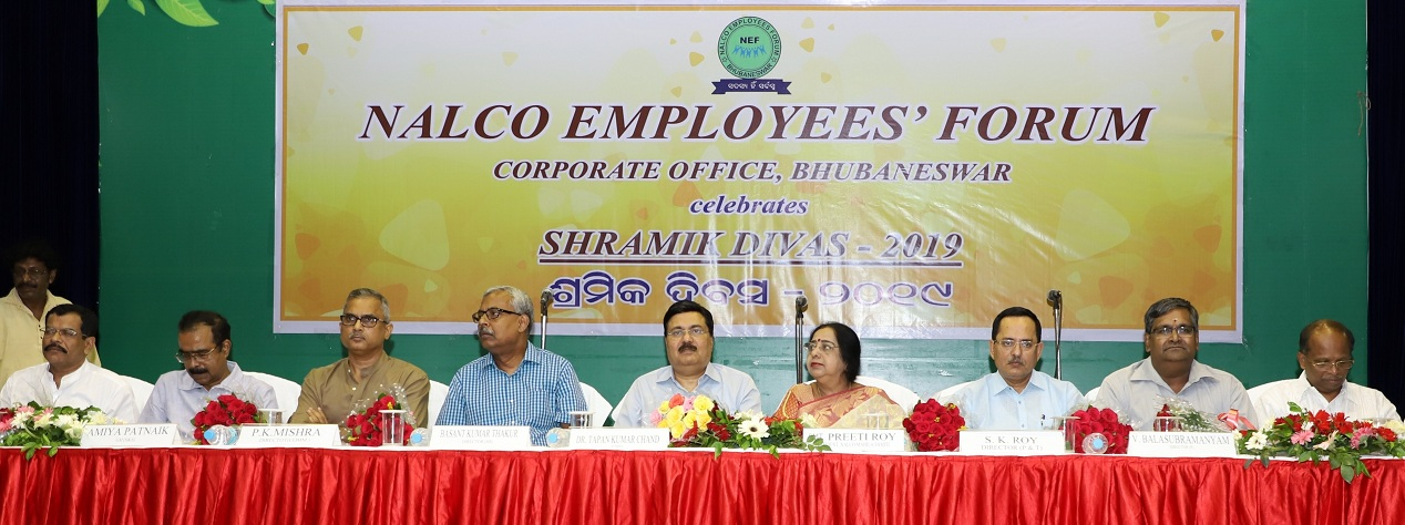 International Workers Day Celebrated at NALCO