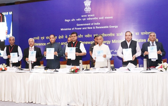 Conference of Ministers for Power New and Renewable Energy held in Shimla