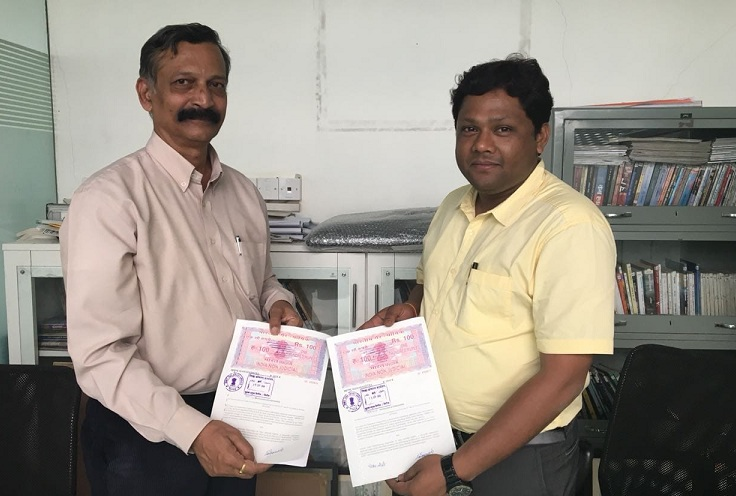 IOCL Maharashtra State office and ALIMCO signed an MoU