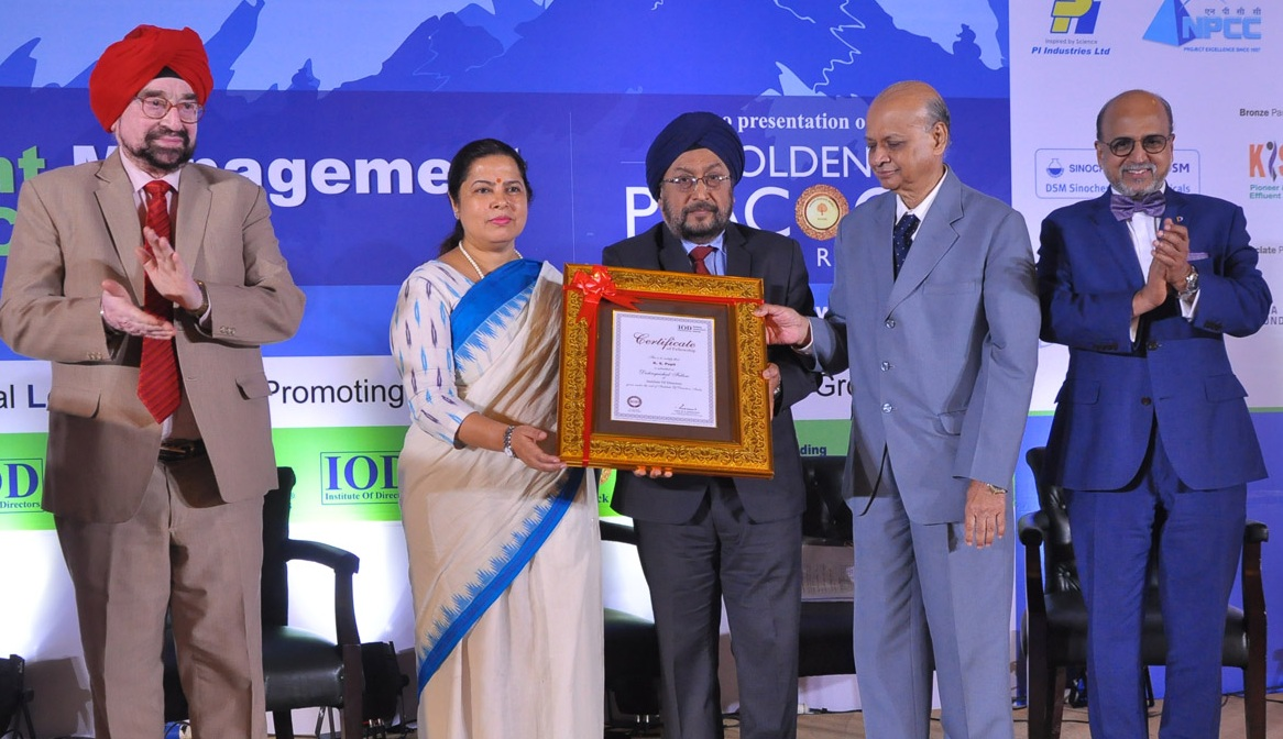 CMD IREDA Honoured Institute of Directors Distinguished Fellowship