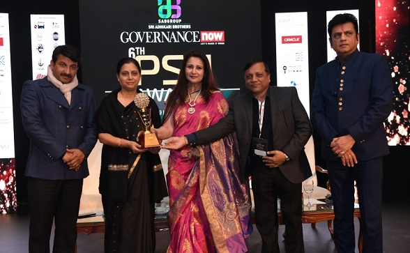 ITI Awarded with Best PSU Award for Digital PSU Category by Governance Now