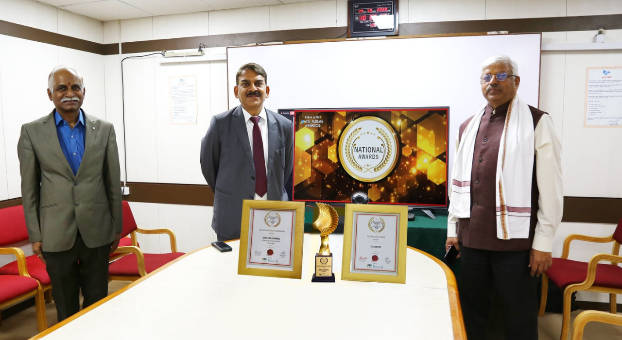 ITI Limited Bags National Awards for Excellence in PSU
