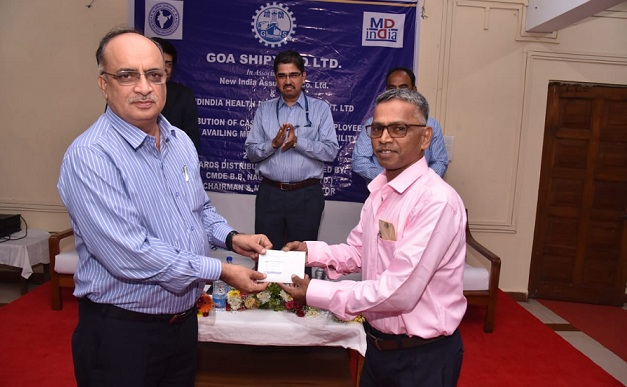 GSL Distributes Medical Insurance Card to Serving and Retired Employees