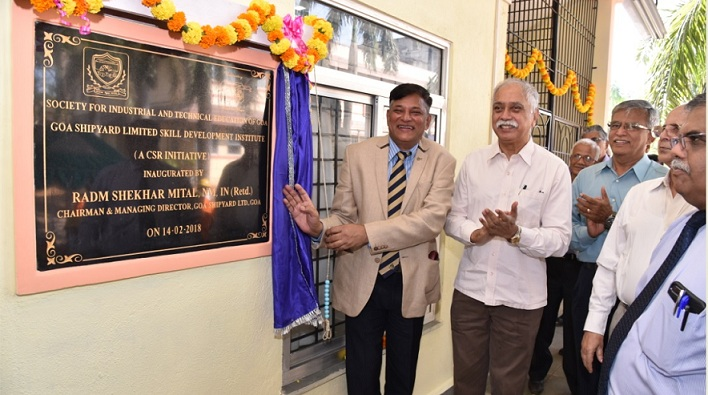 GSL Dedicates Centre of Excellence in Welding to the Goan Youths