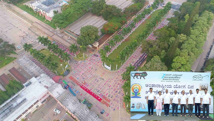 BEL Celebrates International Yoga Day 2019