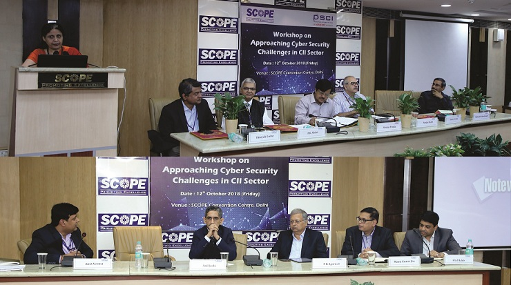 SCOPE and DSCI Organised Workshop on Cyber Security Challenges