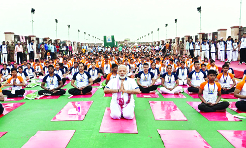 Yoga has Connected the World with India: Modi