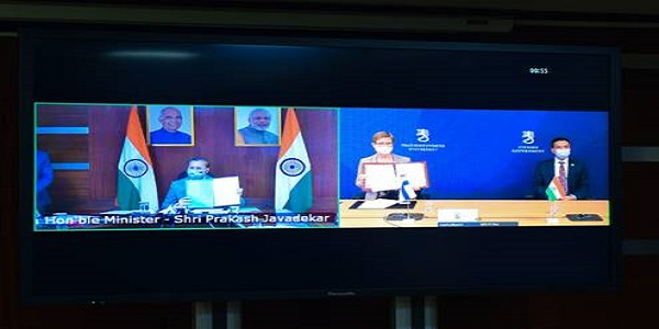 India signs MoU with Finland for developing bilateral cooperation