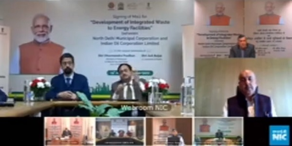 Indian Oil and NDMC signed MoU