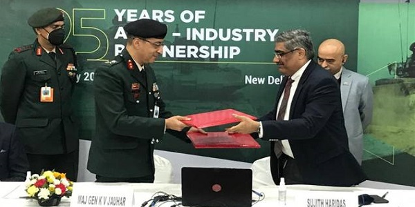 Indian Army signs MoU with Society of Indian Defence Manufacturers