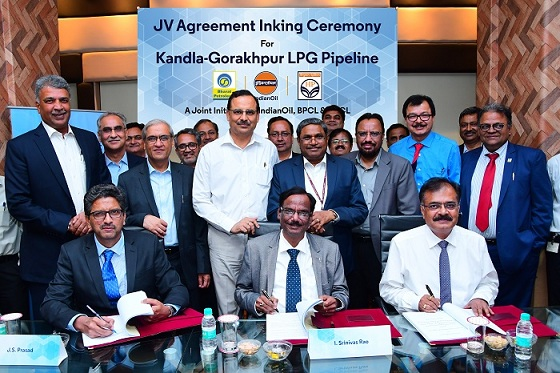 IndianOil joins hands with BPC and HPC for laying the world longest LPG pipeline