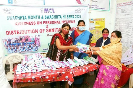 MCL organises personal hygine camp