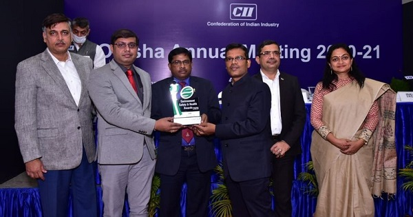 MCL awarded for practices in Environment, Health and Safety by CCI