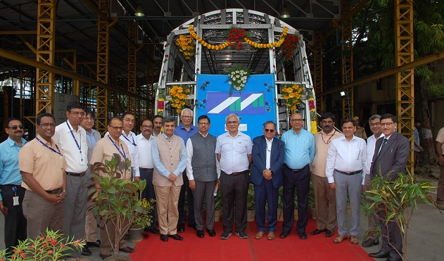 Commencement of Metro Production by BEML for Mumbai Metro