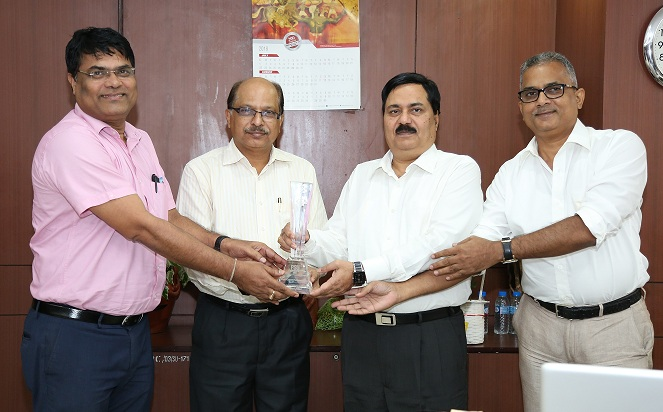 NALCO Received Dun and Bradstreet Award for Excellence in Exports