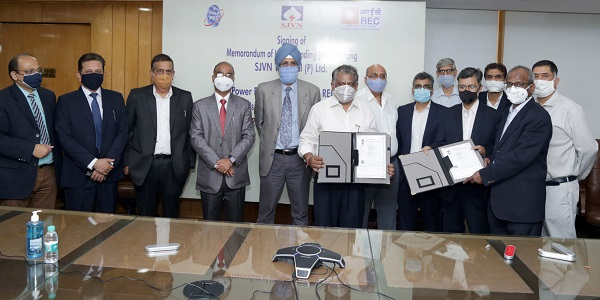 PFC and REC executed MoU with SJVN Thermal Ltd