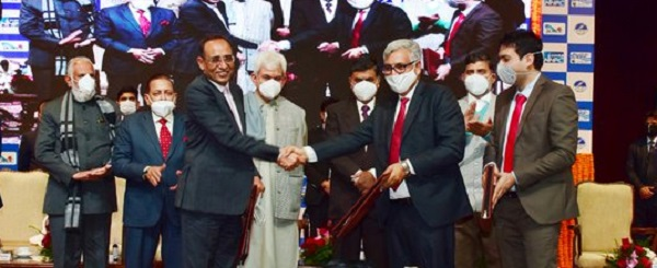 Mega Hydro Power projects: MoU signed between PDD, NHPC and JKPDC