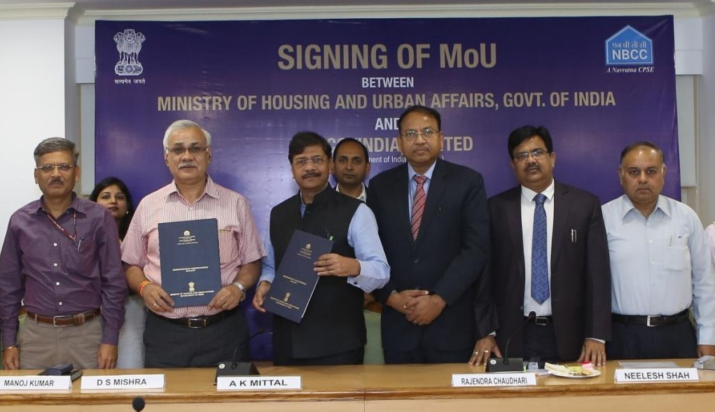 NBCC Signs Annual MOU with MoHUA
