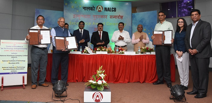 NALCO NIT-Rourkela and NITRAA to set up Centre of Excellence