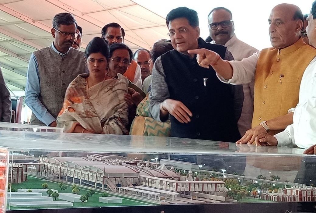 Home Minister Lays Foundation Stone For Redevelopment of Lucknow Railway Station