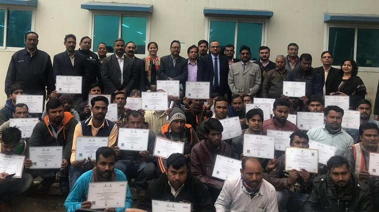 NBCC Upgraded Skills of 200 Construction Workers