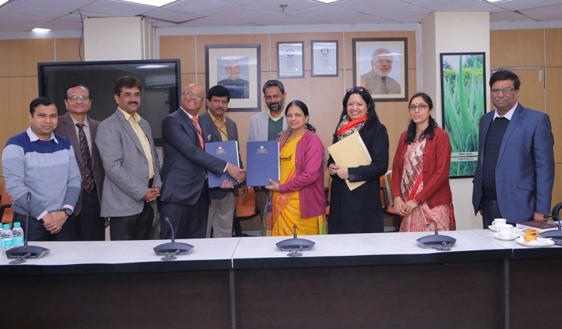 NBCC India signed an MoU with the Ministry of AYUSH