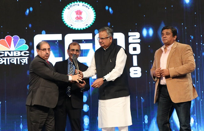 CMD NBCC Conferred CNBC-Awaaz CEO Award