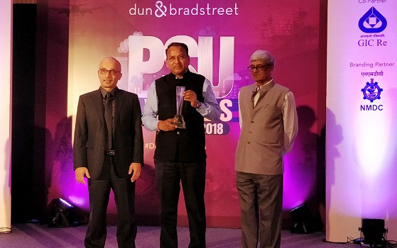 NBCC Bagged Top PSU Award from Dun and Bradstreet