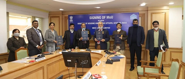 NBCC signed MoU with MoHUA