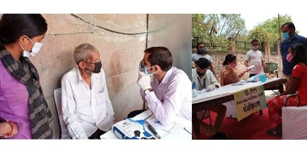 NBCFDC collaborates with Netram Eye Foundation and IPD to provide free medical check up