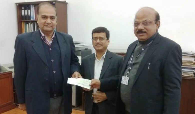 NCL Contributes Rs. 1 Cr. to Swacch Bharat Kosh