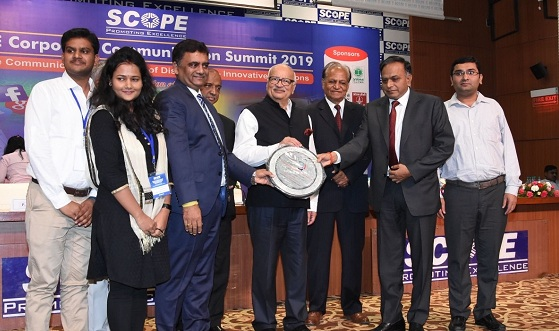 NCL Bags SCOPE Corporate Communication Excellence Award