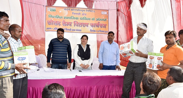 NCL Distributed 100 Solar Lamps