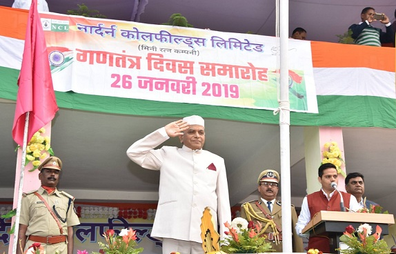 NCL Celebrated 70th Republic Day with full Zeal and Fervor