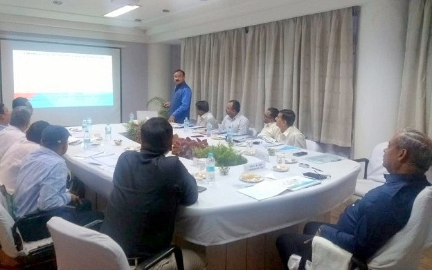 Chairman CIL Chairs a Review Meeting of NEC