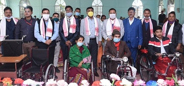 NHPC distributes Aids and Assistive Devices to 822 Divyangs