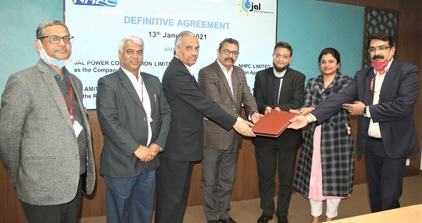 NHPC signs Definitive Agreement of 120 MW Rangit-IV HE Project of JPCL in Sikkim